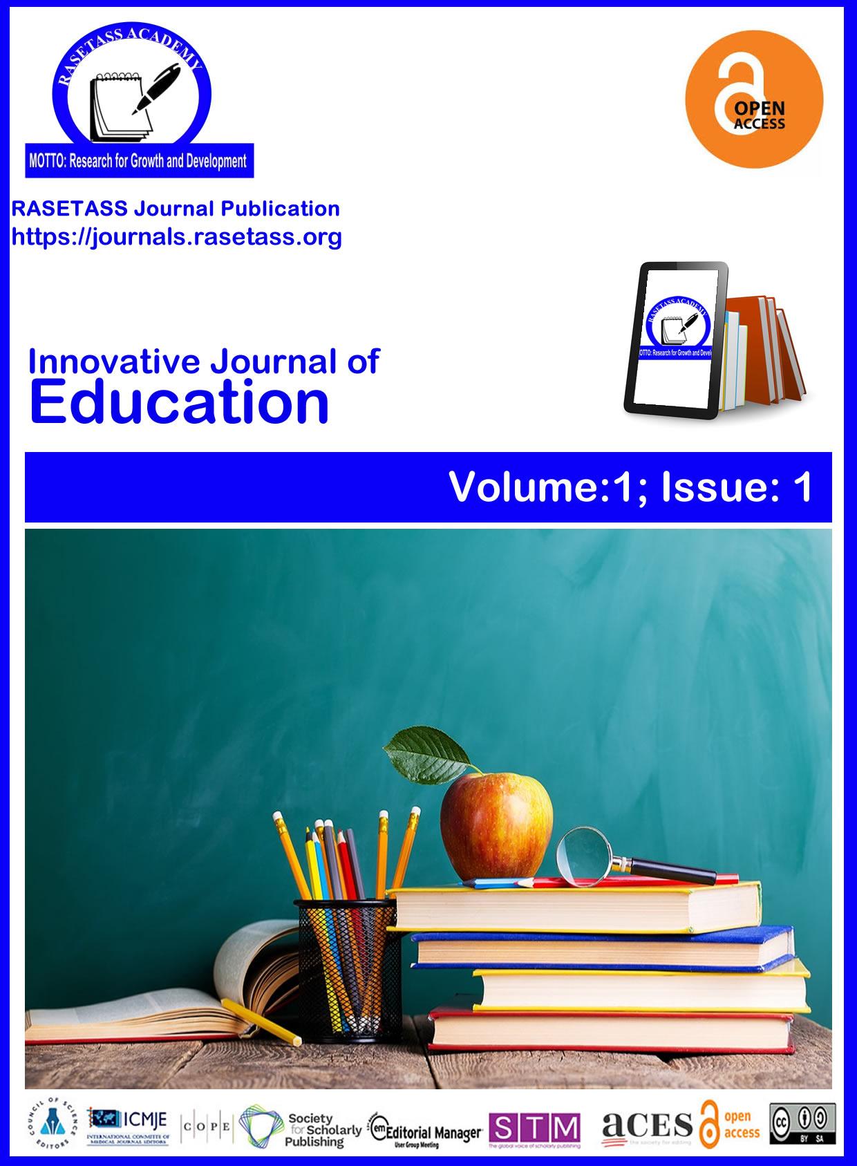 Innovative Journal of Education